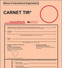 Книжка МДП (ТIR Carnet)